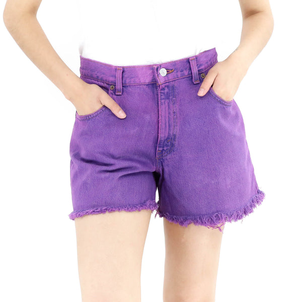 Orchid Denim Shorts