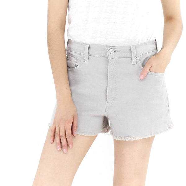 Levi´s Gray  Denim Shorts