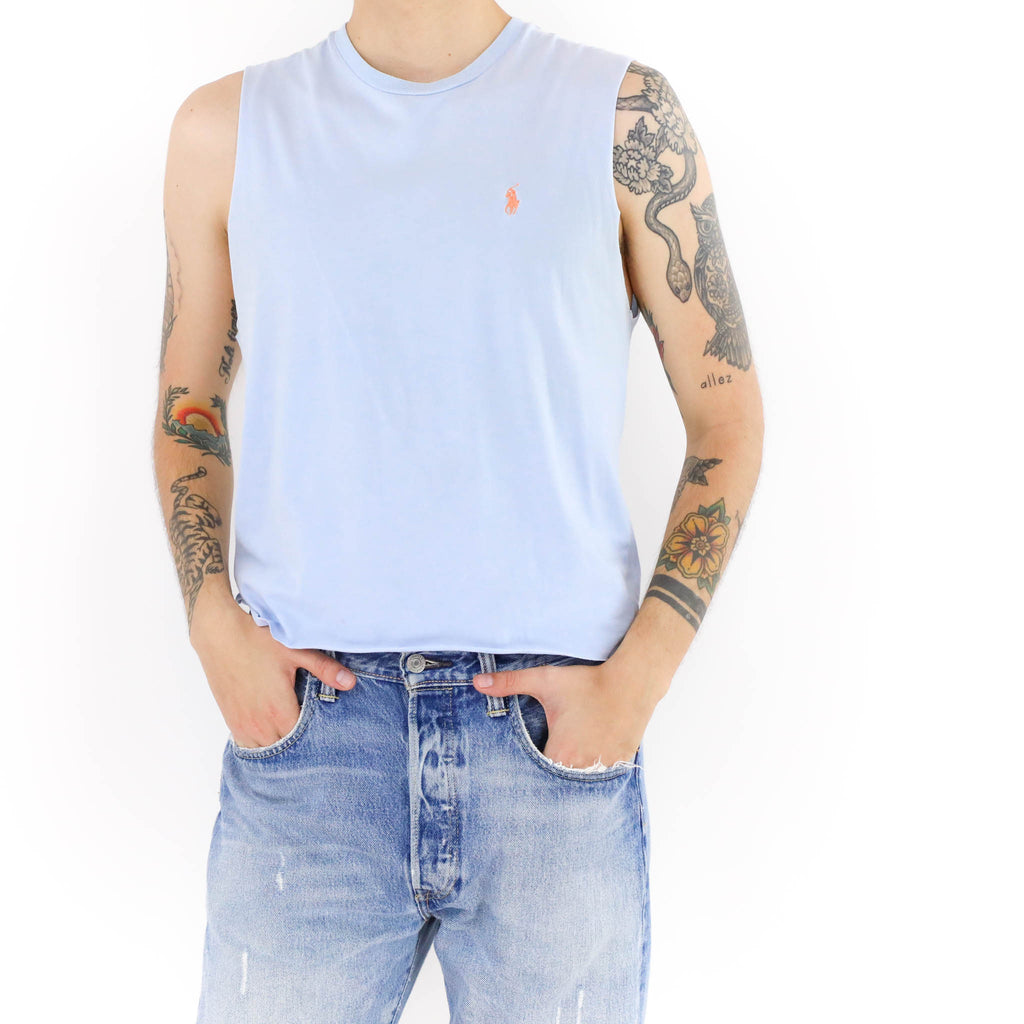 Baby Blue Polo Vintage T-shirt