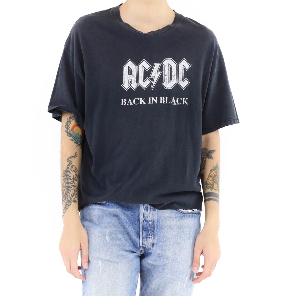 AC/DC Back In Black Vintage Tshirt