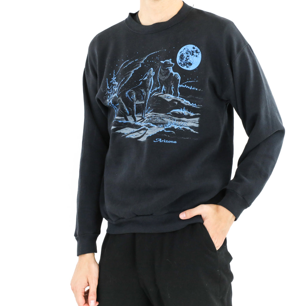 Full Moon Wolves Sweatshirt