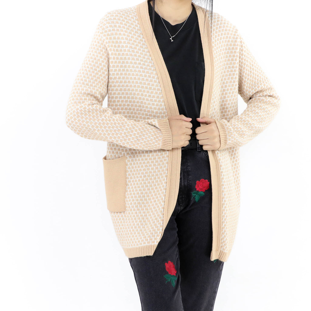 Peach Long Sweater