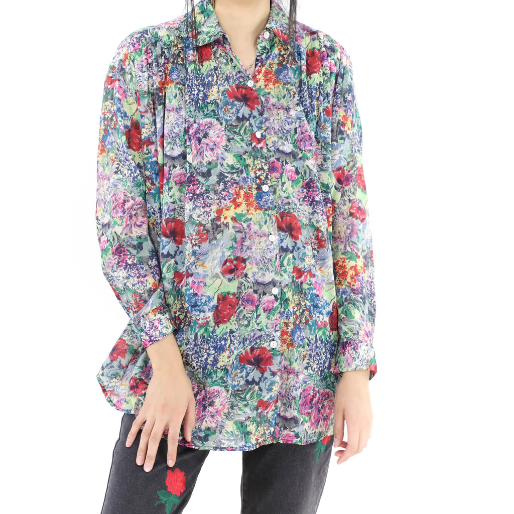Floral Oversized Blouse