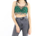 Emerald Sequin Top