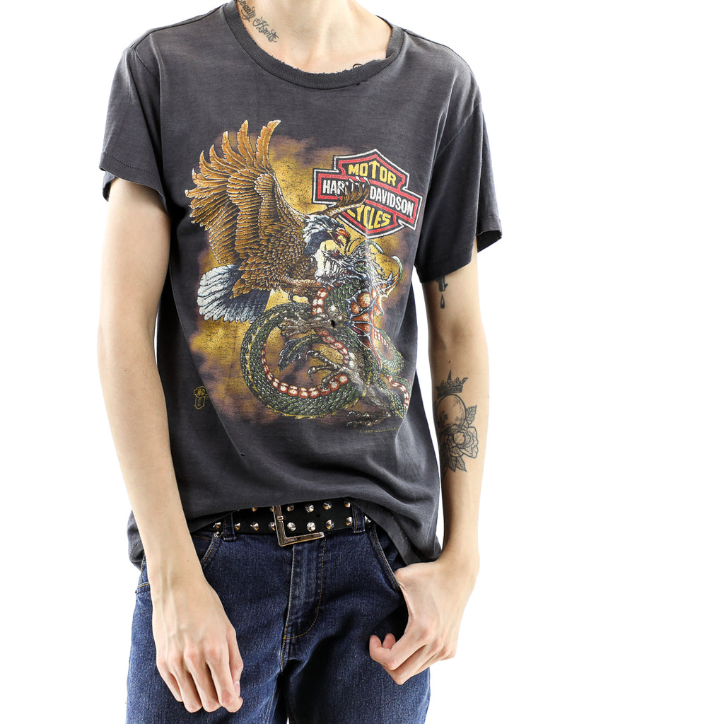 Eagle and Dragon Vintage Harley Davidson Tshirt