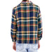 Yellow & Blue Flannel Shirt