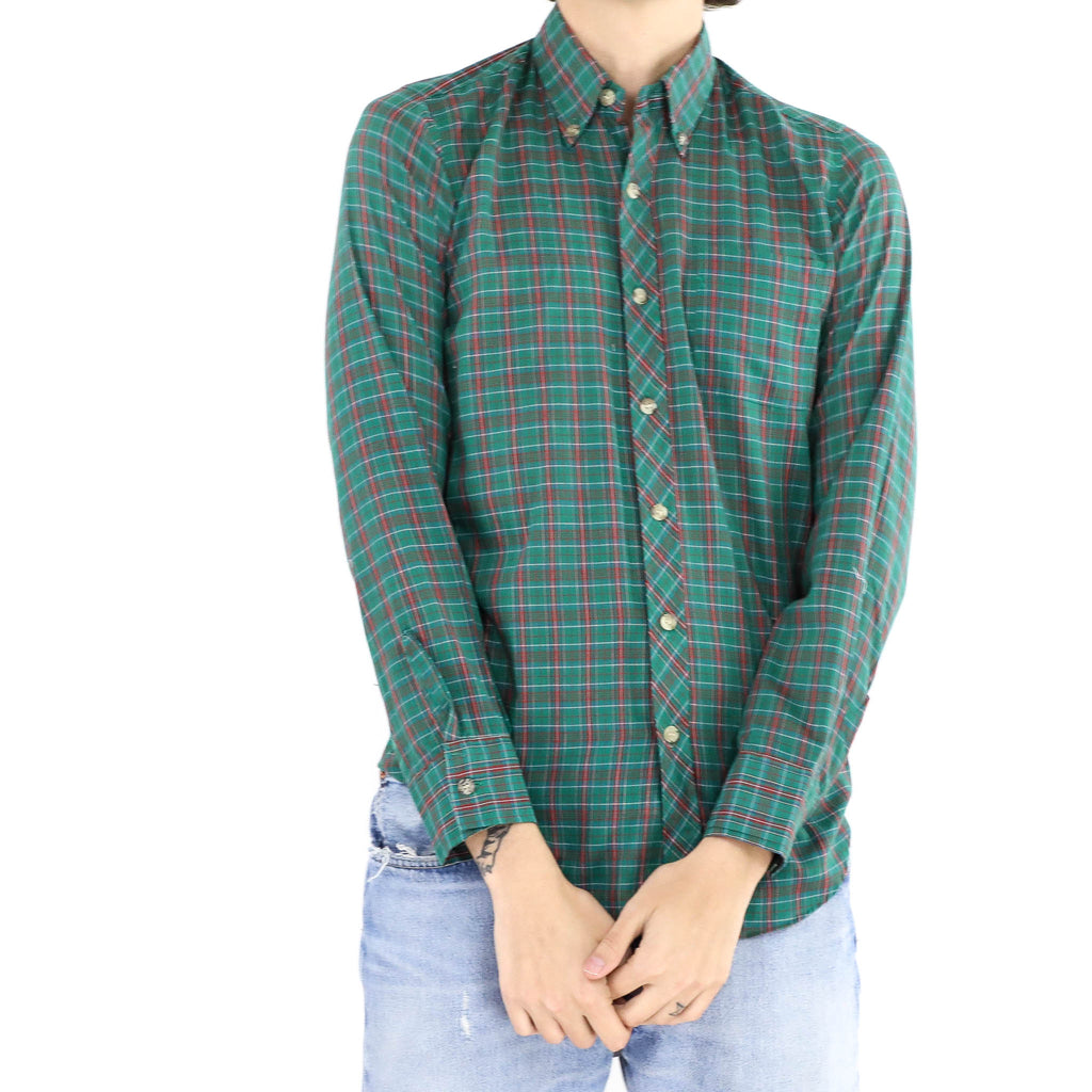 Jungle Green Flannel Shirt