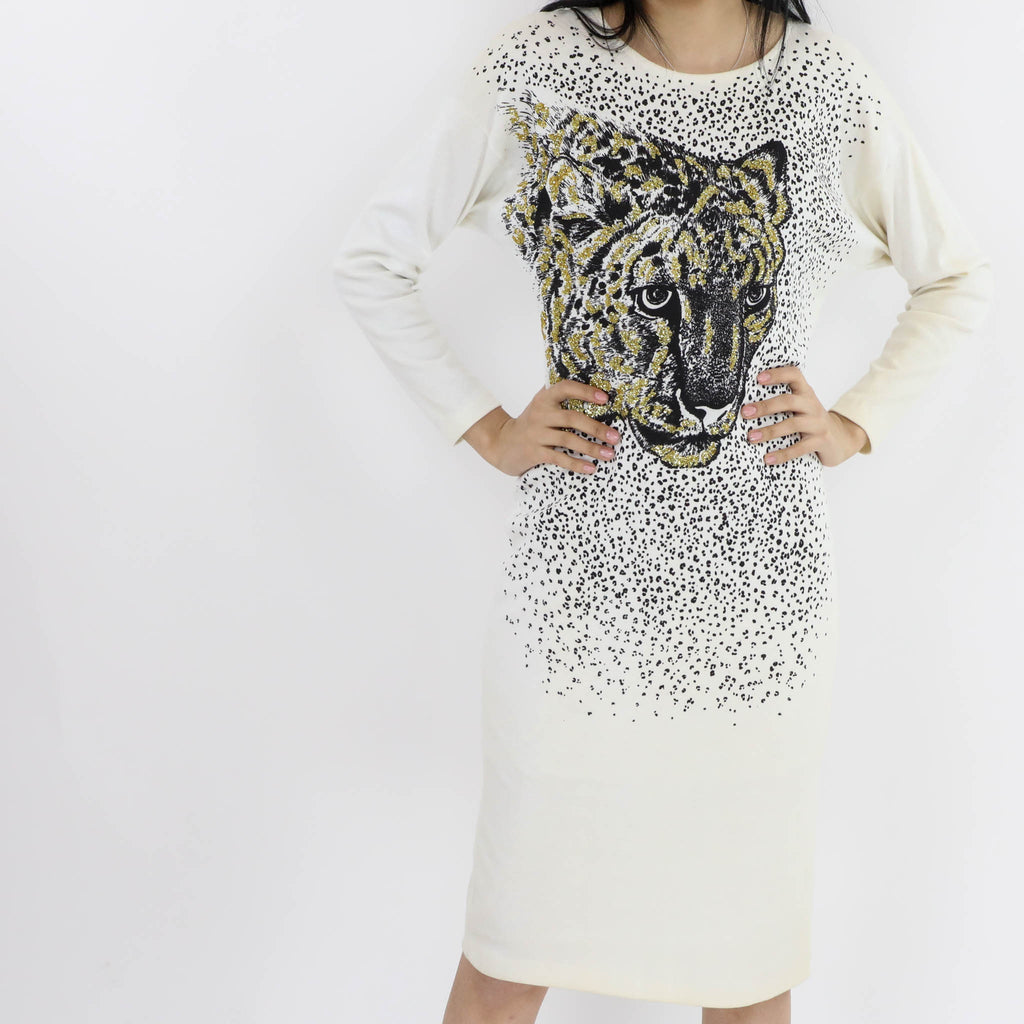 Sequin Tiger Dress