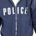 Police Zip Up Sweatshirt