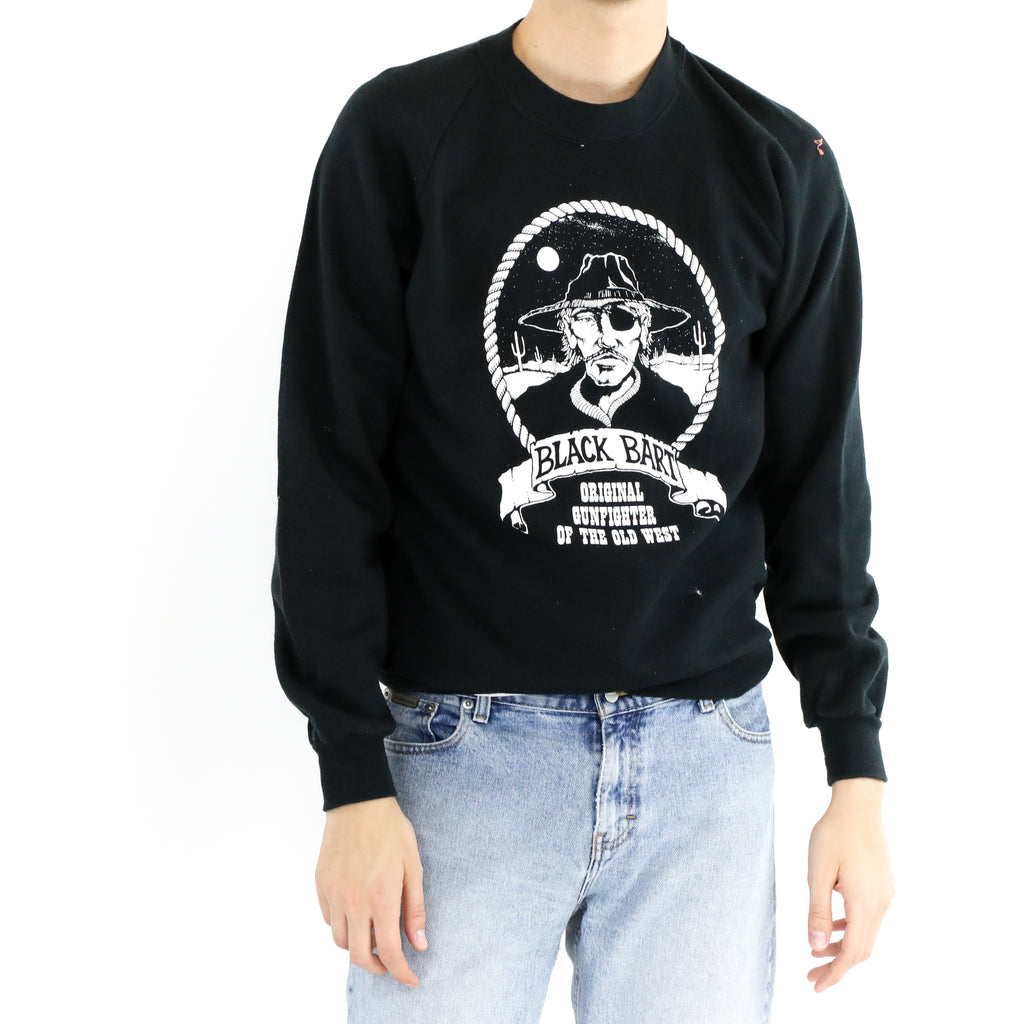 Black Bart Graphic Sweatshirt