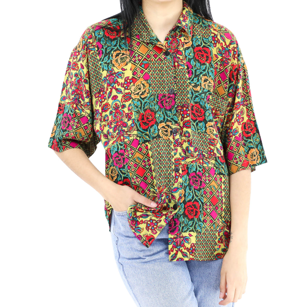 Floral Multicolor Printed Blouse
