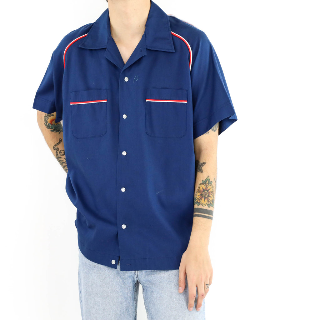 New York Veteran Bowling Shirt