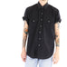 All Black Short Sleeve Shirt