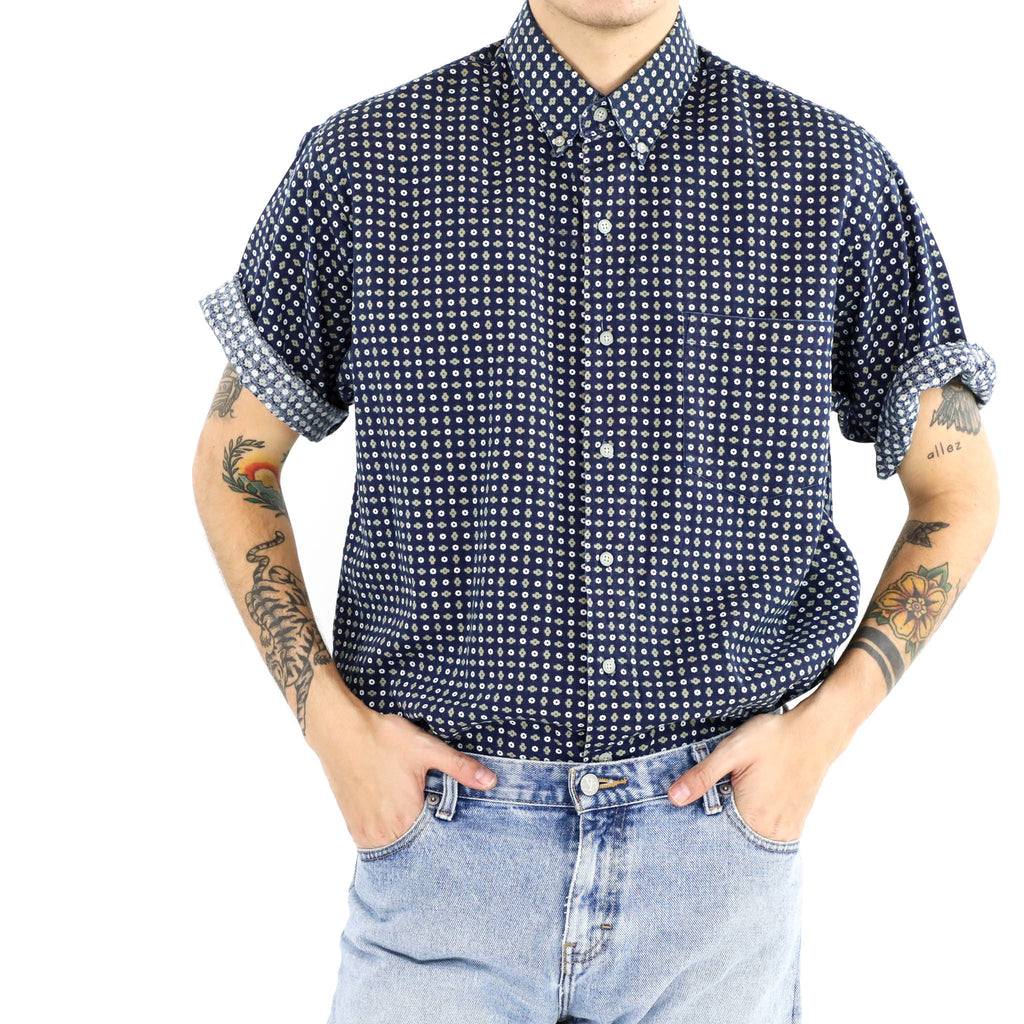 Basket Weave Pocket Shirt