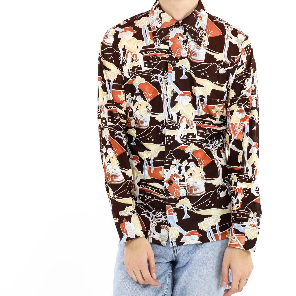 Men at Work Long Sleeve Shirt