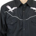 Eagle Embroidery Western Shirt