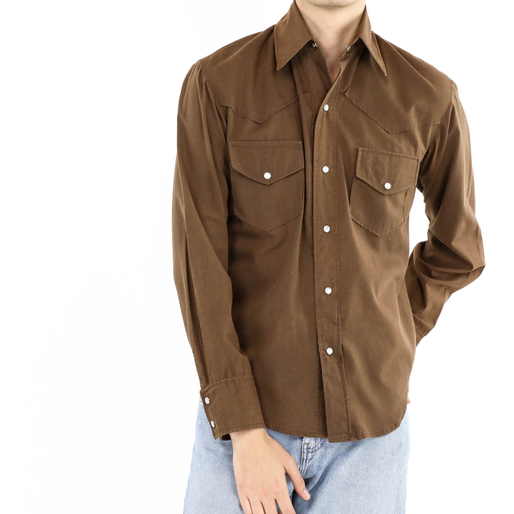 Walnut Long Sleeve Shirt