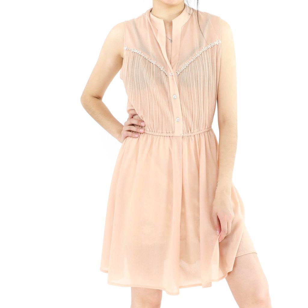 Clear Peachy Dress