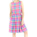 Cotton Candy Plaid Dress