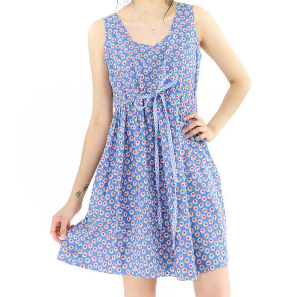 Cherry Pop Blue Dress