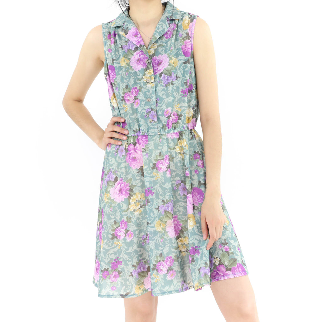 Lavender Flowers Dress