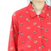 Red Indian Details Blouse
