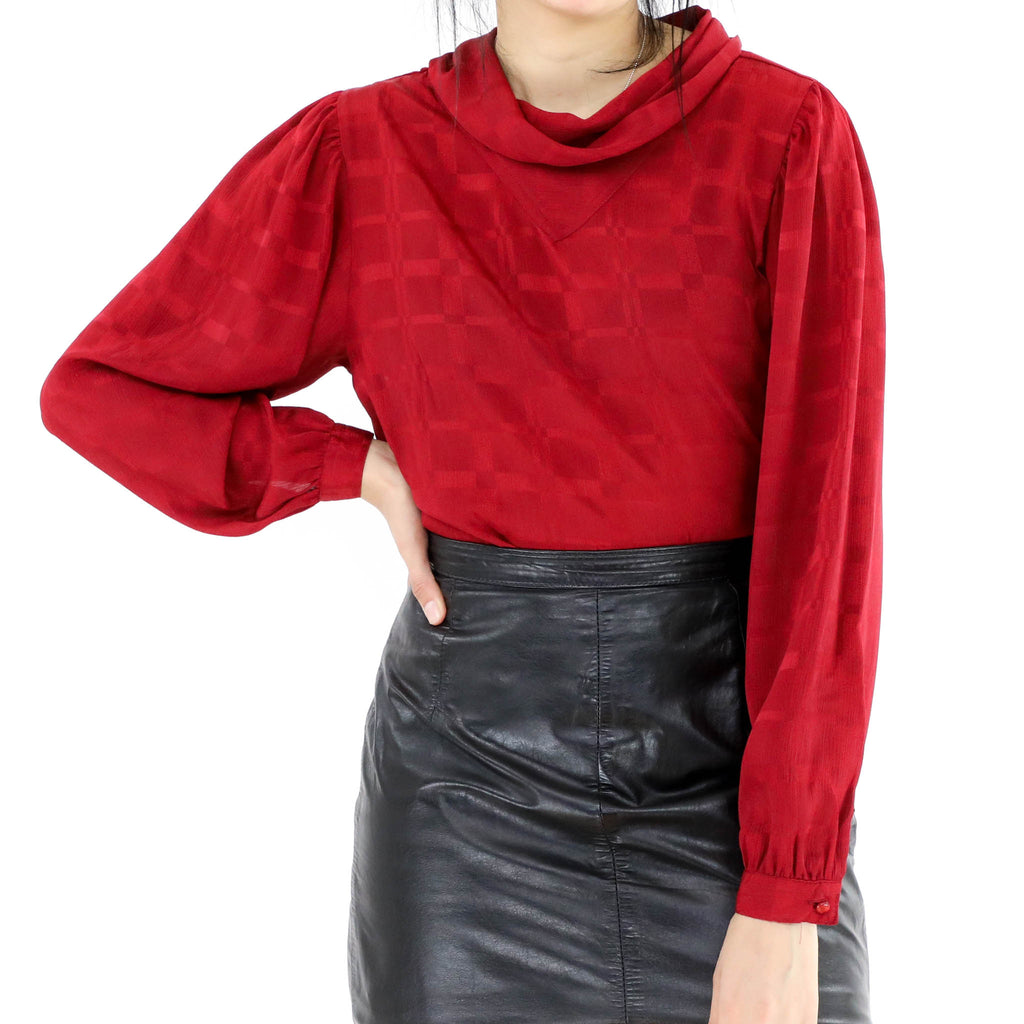 Red Wine Blouse