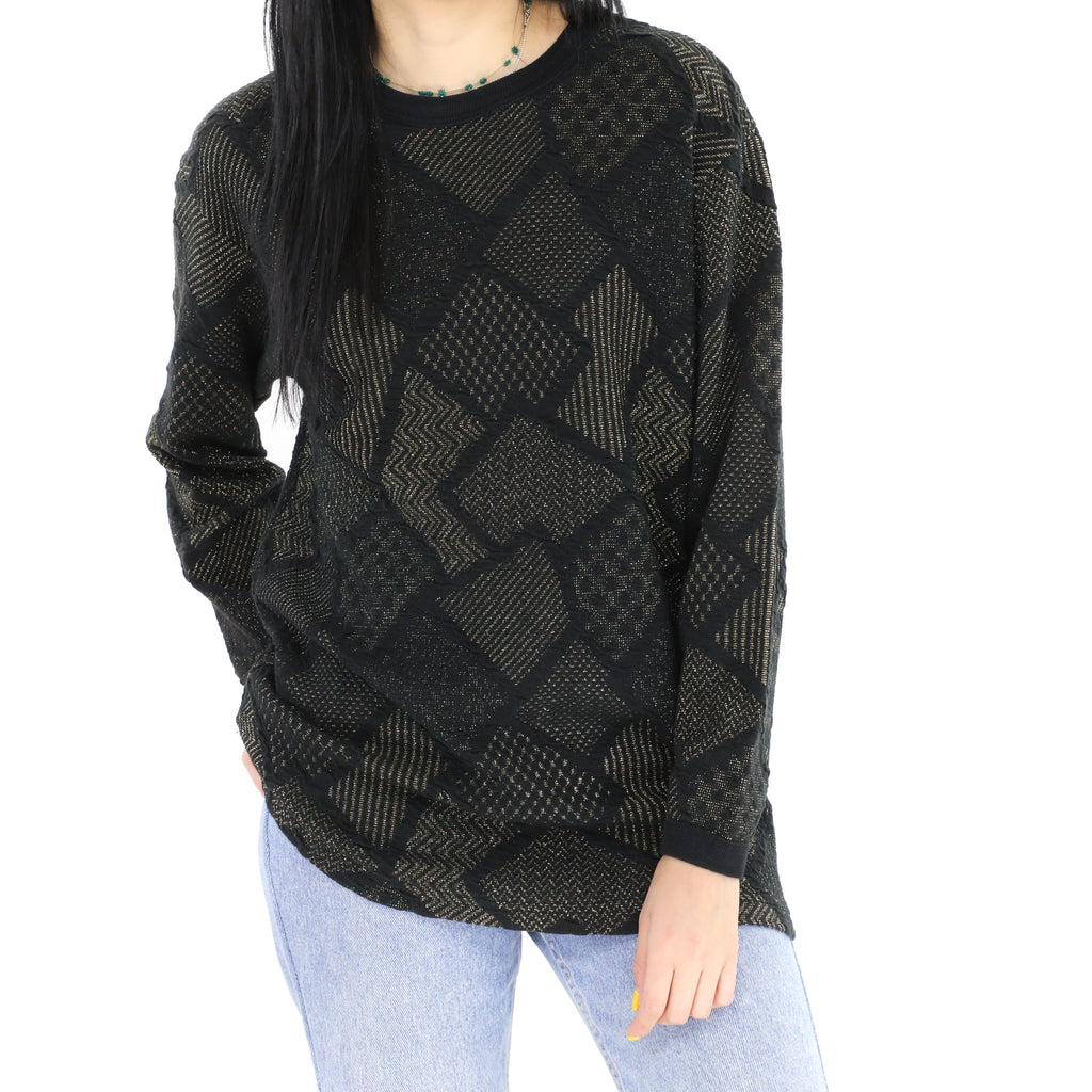 Black & Goldie Sweater