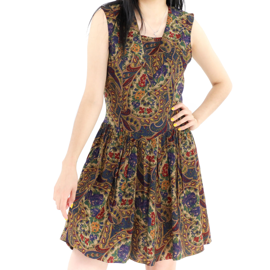 Oud Paisley Dress