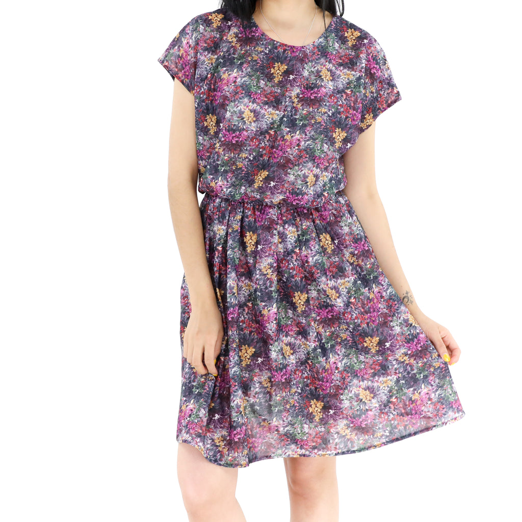 Purple Garden Dress