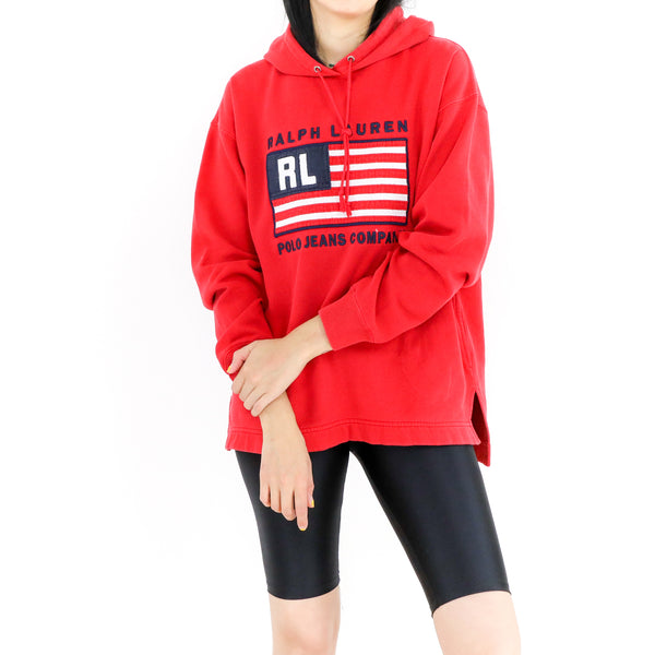 Red Ralph Lauren Sweatshirt
