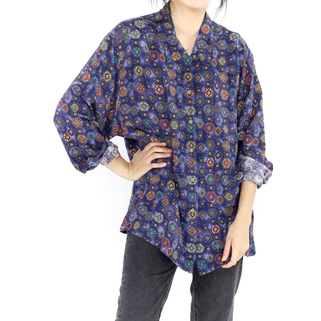 Multicolor Tiles Blouse