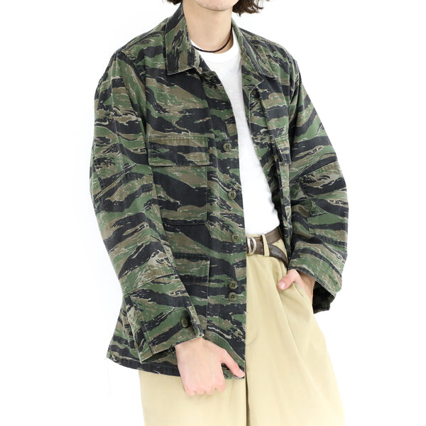 Striped Camo Jacket
