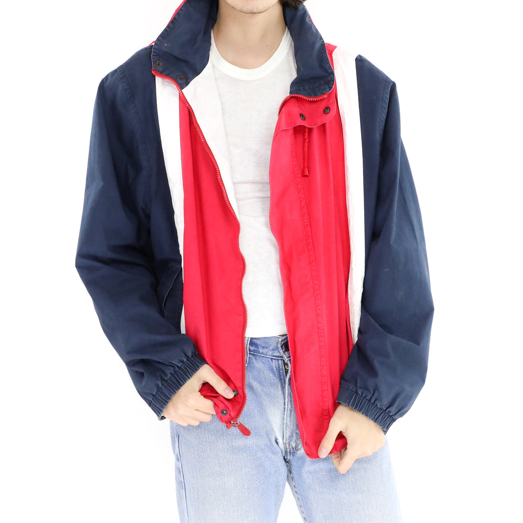 Red White Blue Nautica Windbreaker
