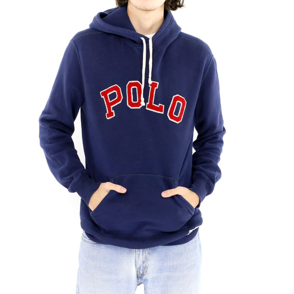 Dark Blue Polo Sweatshirt