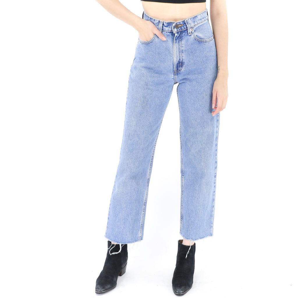 Levi's High Waisted Denim Jeans