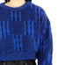 Electric Blue Crop Sweater