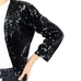 Black Sequin Bolero