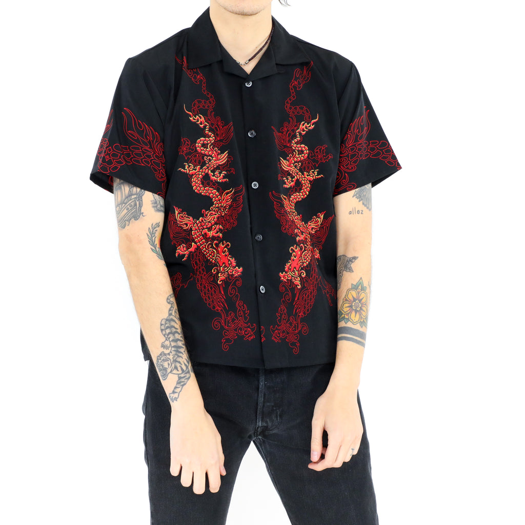 Red Dragons Short Sleeve Shirt