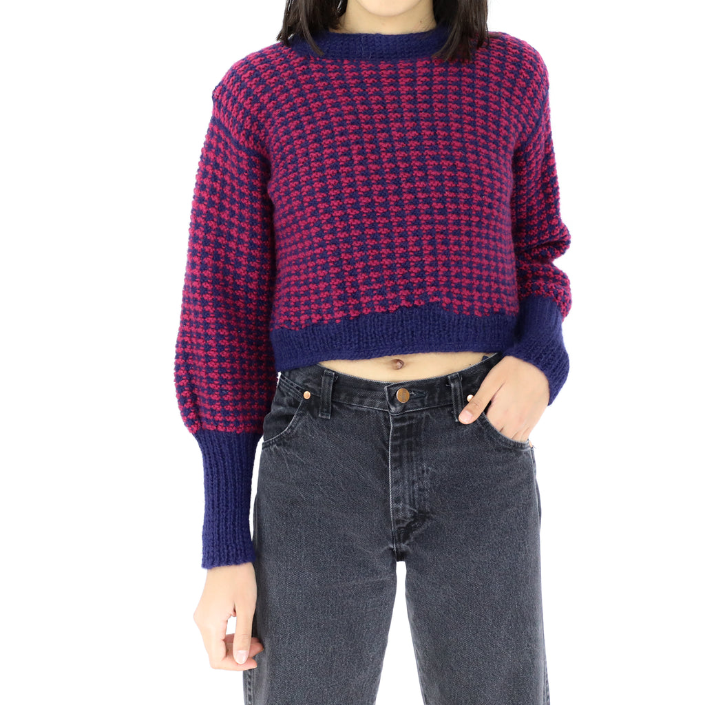 Cherry & Blue Sweater