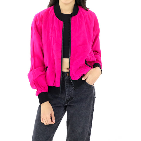 Electric Pink Bomber