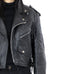 Black Leather Biker