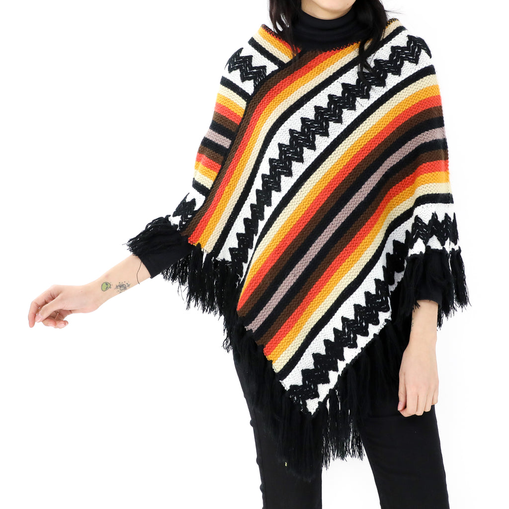 Sunset Colors Poncho