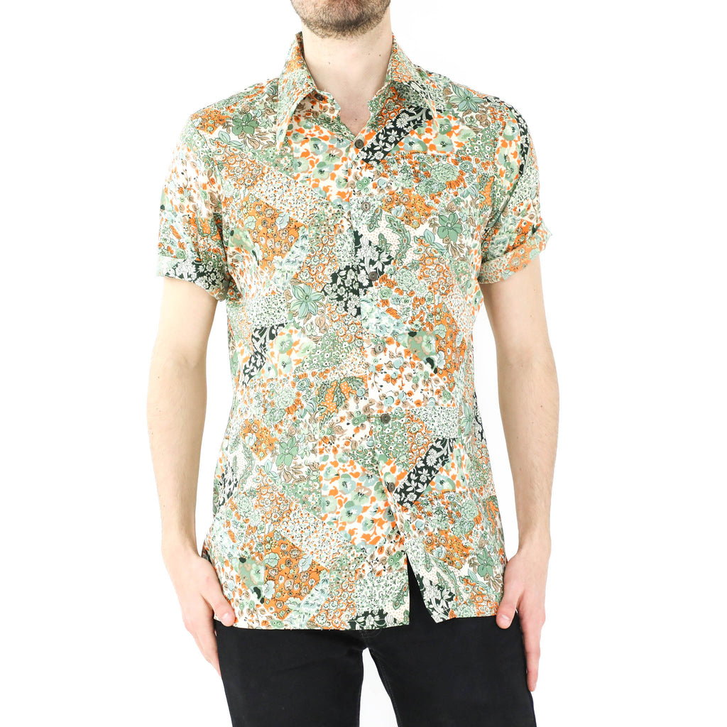 Many Flower Patterns Shirt