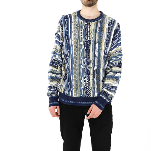 Shades of Blue Coogi Sweater