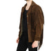 Dark Brown Fringe Jacket