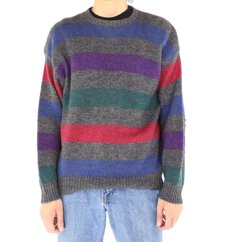 Purple Stripe Sweater