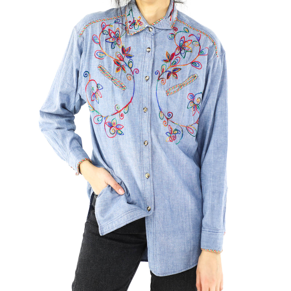 Multicolor Embroidered Blouse