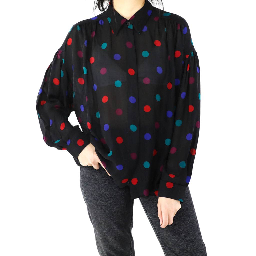 Colorful Dots Blouse