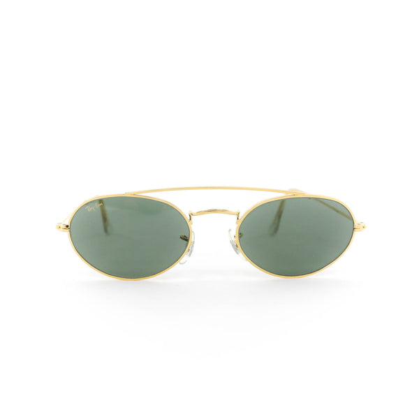 Ray Ban Oval Gold Vintage Sunglasses